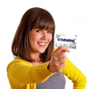 Visitenkartenhalter und mehr bei VITAdisplays®