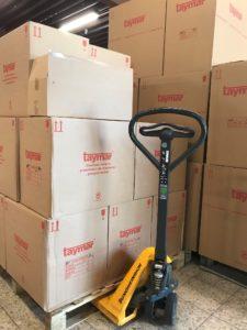 Taymar Anlieferung für den großen SALE